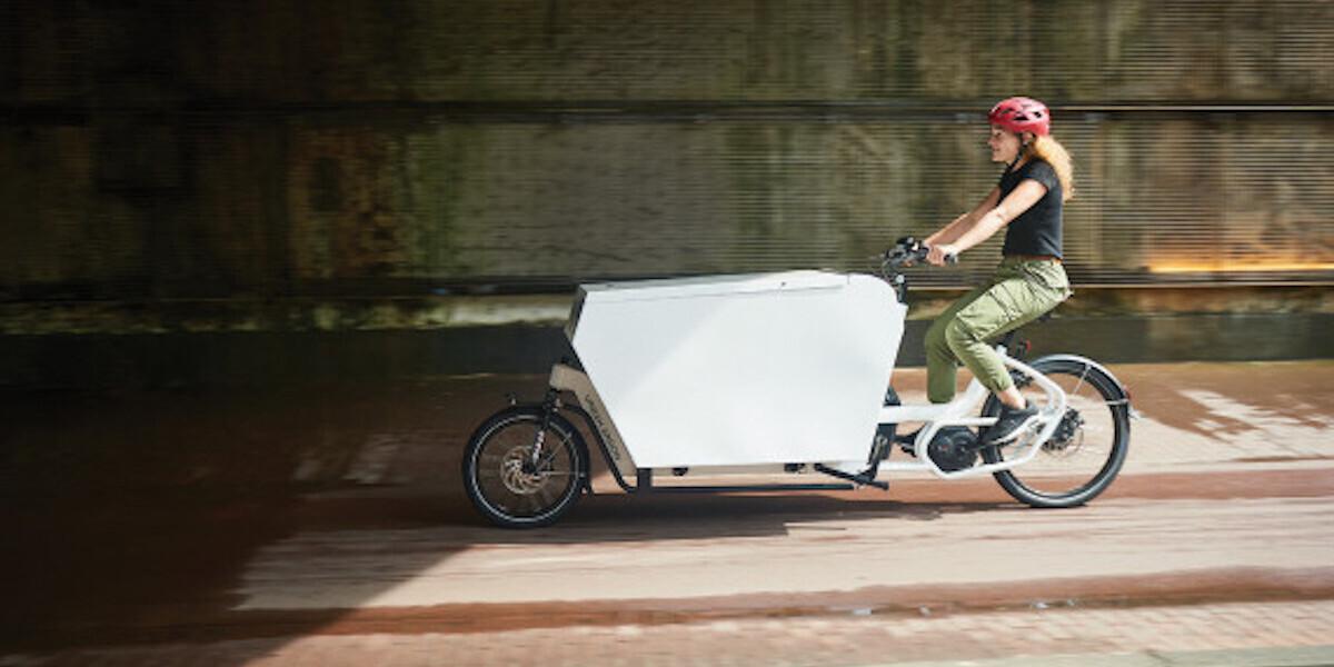 Cargo bikes vs delivery vans: Urban Arrow on the future of logistics