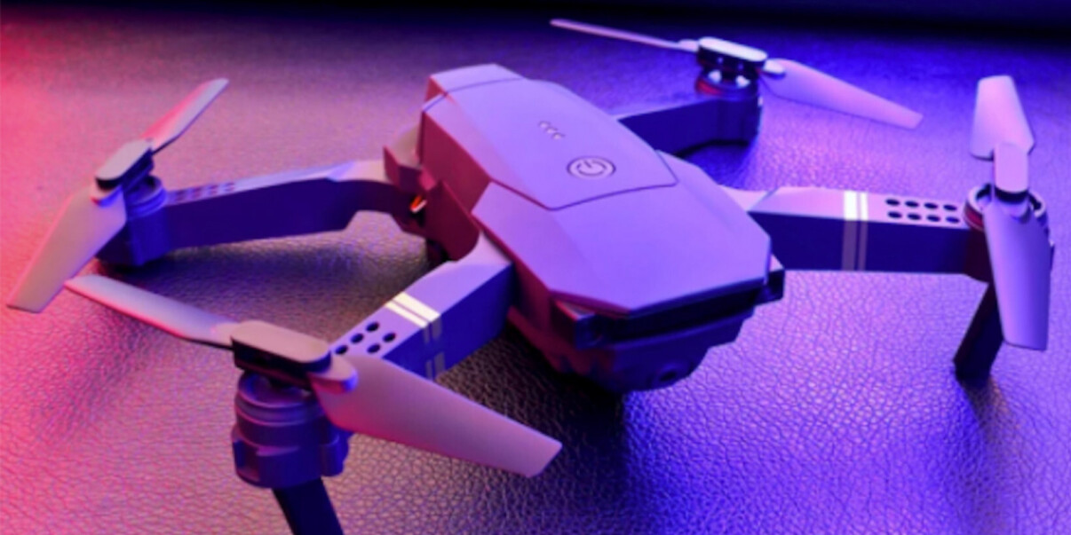 With killer flight options and 4K video, this nifty camera drone should be way more than $99