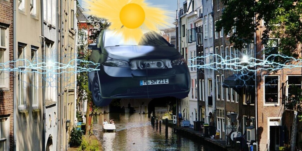100 solar EVs will boost Utrecht's vehicle-to-grid charging system