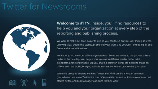 Twitter finds its media home with Twitter for Newsrooms