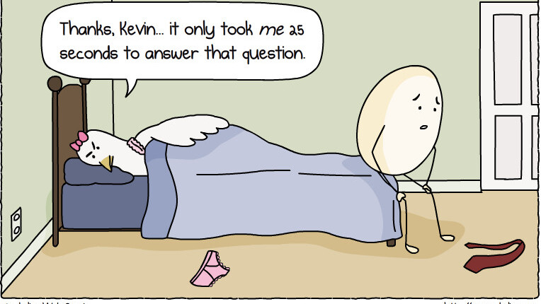 One of life's great questions…finally answered.