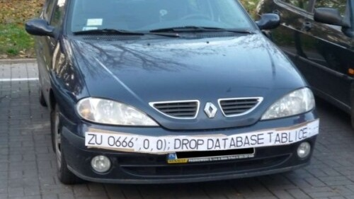 SQL-Injection in times of traffic monitoring