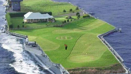 Golf with a sea breeze