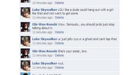 "Luke Skywalker: ""Totally just saved a PRINCESS"""