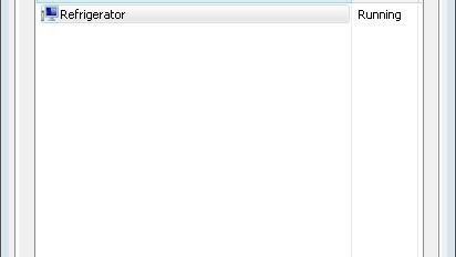 Running Applications: Refrigerator