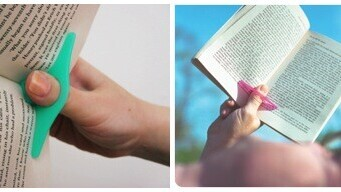 Thumbthing keeps your book page open. It really is the simple things…