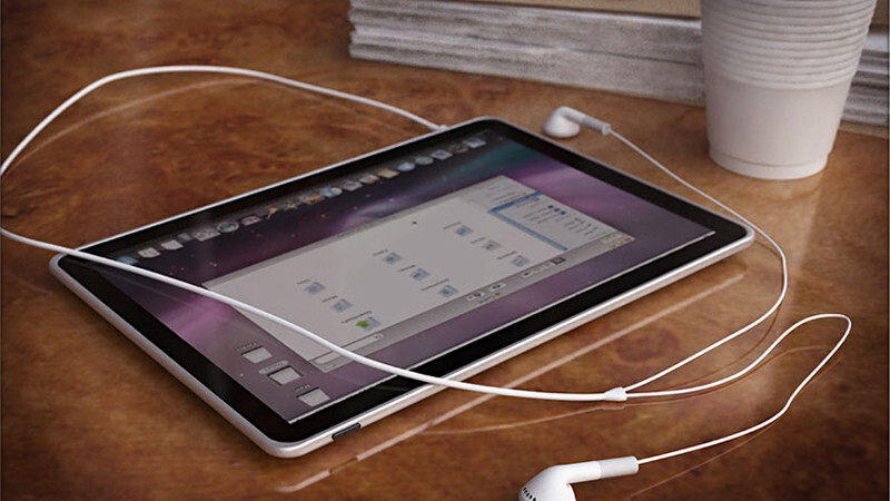Out of all the Apple Tablet concepts. This one comes closest to the final product.
