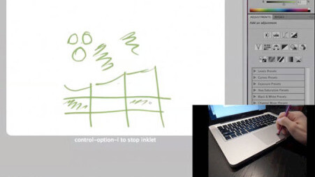 Inklet Turns Your Apple Trackpad into a Graphic Tablet