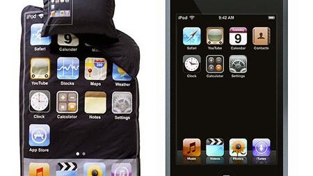 An iPod sleeve: for your body…