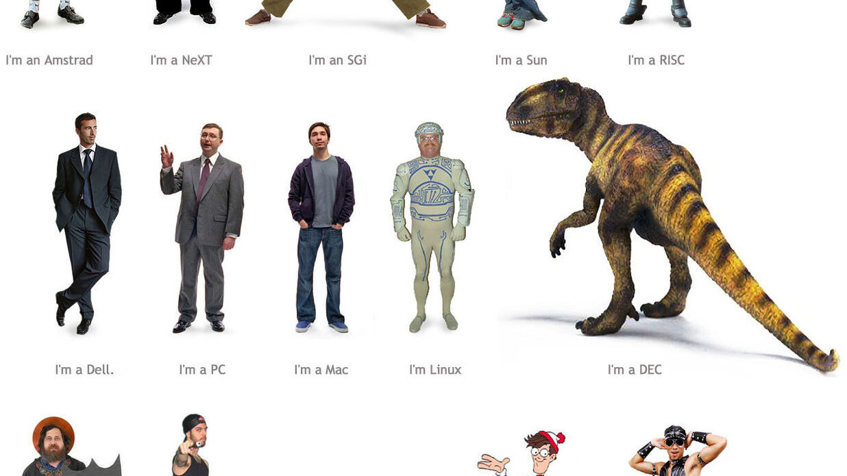Computer Stereotypes Illustrated: which one are you?
