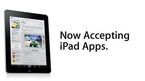 Apple Developers: You Can Now Submit Your iPad Apps to iTunes Connect