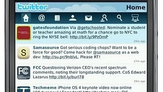 Twitter Launches Official Blackberry Application