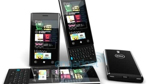Leaked Dell Windows 7 Phone Is Electric
