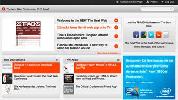 Begrüßen Sie das neue The Next Web