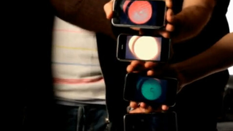 What iPhones can do to a music video.