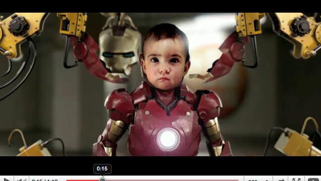 Iron baby FTW!