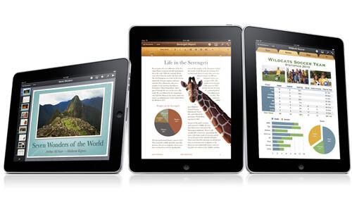 iWork for iPad Updated