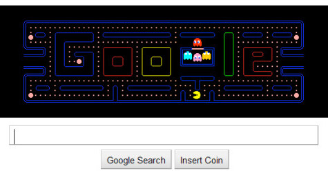 Play Google PacMan After It's Gone