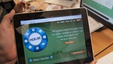 Picklive warms up for the World Cup by readying its iPad app