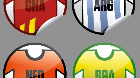 Since launch of iPhone app Get Glue gets 800,000 ratings/check-ins, now with World Cup stickers