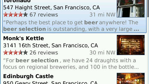 Blackberry users rejoice, new Google Maps features for you.