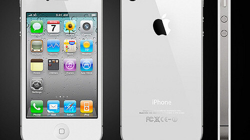 White iPhone 4 Caught On TV, In London Of All Places