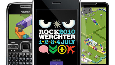 Rock Werchter 2010: The Official Application.