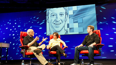 """Zuckerberg at D8: """"we recommend privacy settings, we did not change any settings"""""""