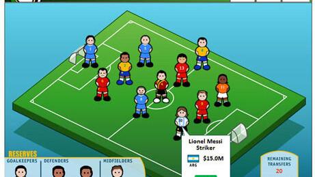 Play Arabic Fantasy Football on Facebook