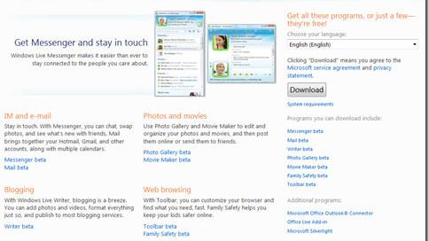 Microsoft takes aim at iLife with Windows Live Essentials