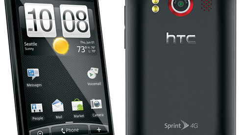 Sprint Releases HTC EVO Software Update To Fix Memory Card Issues