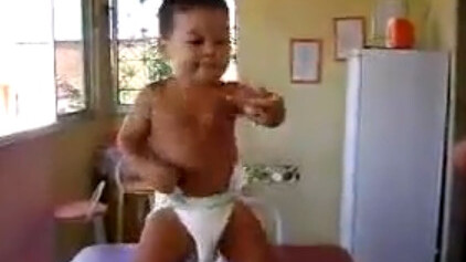 Oh my word…If you haven't seen the dancing samba baby, you've just gotta watch this.
