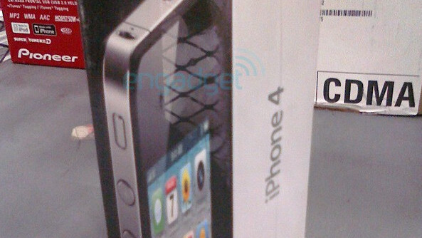 For you hardcore Apple Geeks. The iPhone 4 Box & Packaging
