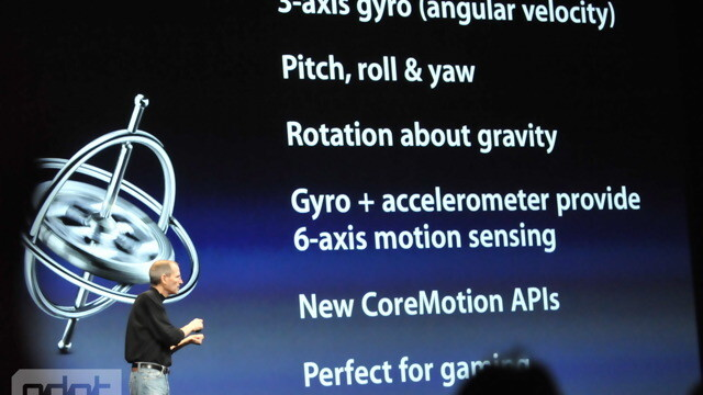 iPhone 4 Has A Gyroscope – Gaming On The iPhone Just Got Super-Three-Dimensional