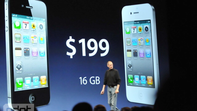 iPhone 4 Pricing Confirmed: $199 and $299
