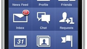 Facebook for iPhone Updated for iOS4. Includes fast app switching.