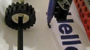 Truly Amazing – The Lego Felt Tip Printer