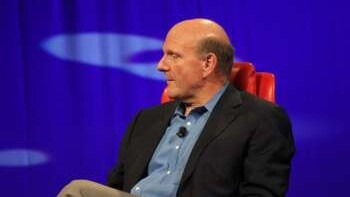 """Ballmer at D8, """"We were ahead of the phones game""""."""