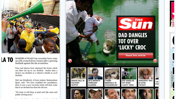 "The Sun's iPad App Launches, Bypasses Apple's ""No Porn"" Rule"