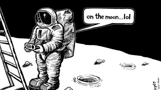 If the Moon landing happened today: