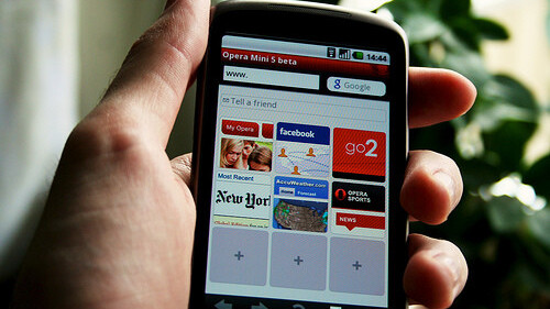 Opera Mini Now Serving One Billion Daily Page Views