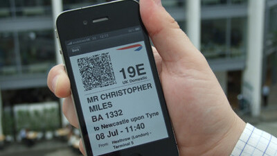 Today British Airways passengers were able to check-in using their iPhones for the first time