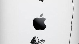 """Probably the Greatest """"Apple"""" Decal Design Yet."""