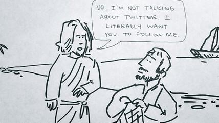 """And Jesus said to Peter…"""