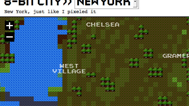 8-bit Google Maps