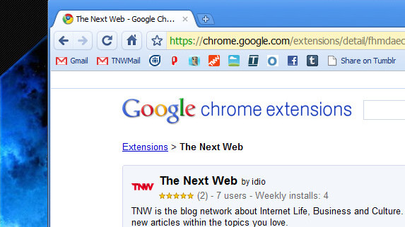Chrome Users!  Install TNW's New Chrome Extension.