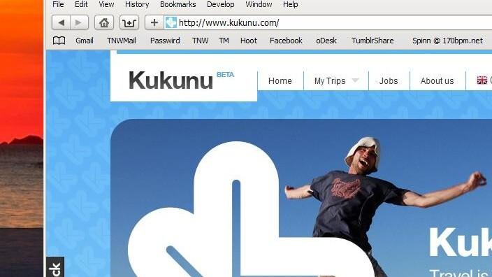 Kukunu takes a social approach to travel planning.