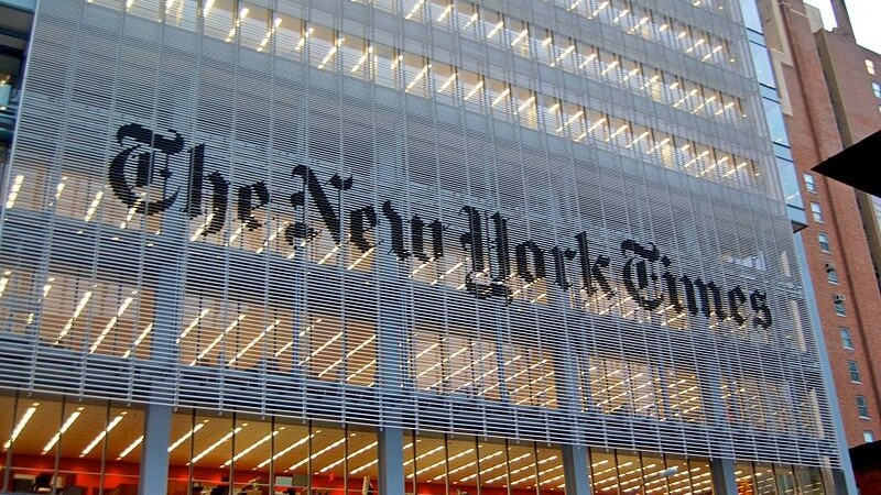 """The New York Times should Google for """"search algorithm""""."""