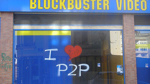 """Blockbuster """"prepares to file for bankruptcy"""". Netflix, Lovefilm and Redbox wield the knife"""