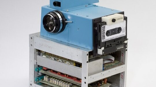 Wondering what the first ever digital camera looked like?